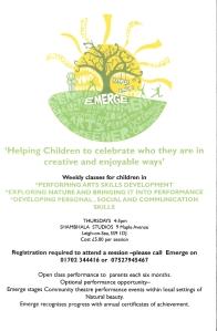 Emerge leaflet