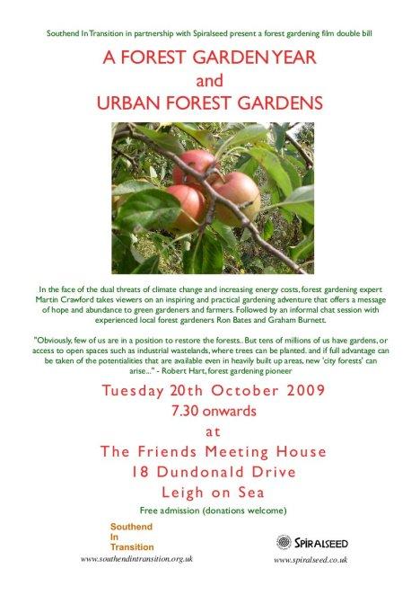 forest gardening film poster